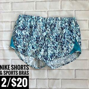 {Nike} Track Shorts